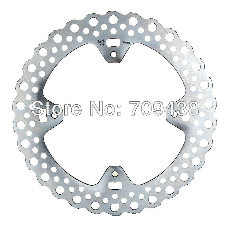 BIKINGBOY New Rear Brake Disc Rotor for Honda CR 125 250 R/E 2002-2008 CR 125 E SUPERMOTARD CRF 450 X 05 06 07 08 09 10 11 12
