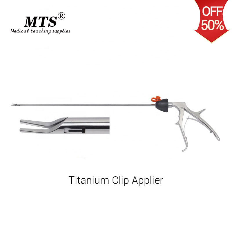 MTS Laparoscopic Surgical Instruments Endoscopic Titanium Clip Applier For Hospital Surgical Rooms And Medical Teaching Practice