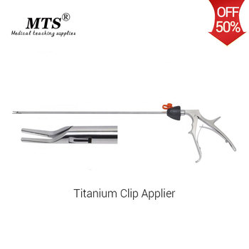 цена на MTS Laparoscopic Surgical Instruments Endoscopic Titanium Clip Applier For hospital Surgical rooms and medical teaching practice