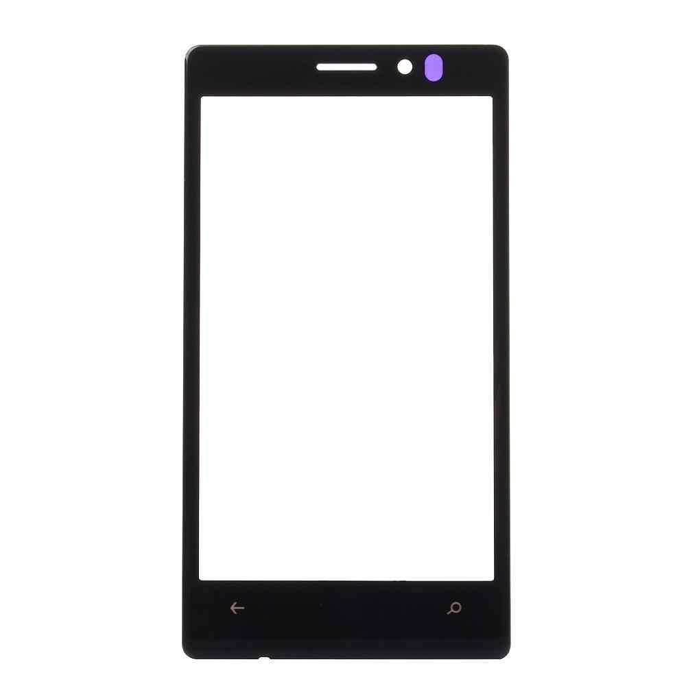 الجبهة الخارجي عدسات زجاجية للشاشة تعمل باللمس استبدال شاشة LCD غطاء لعلامة نوكيا Lumia 925