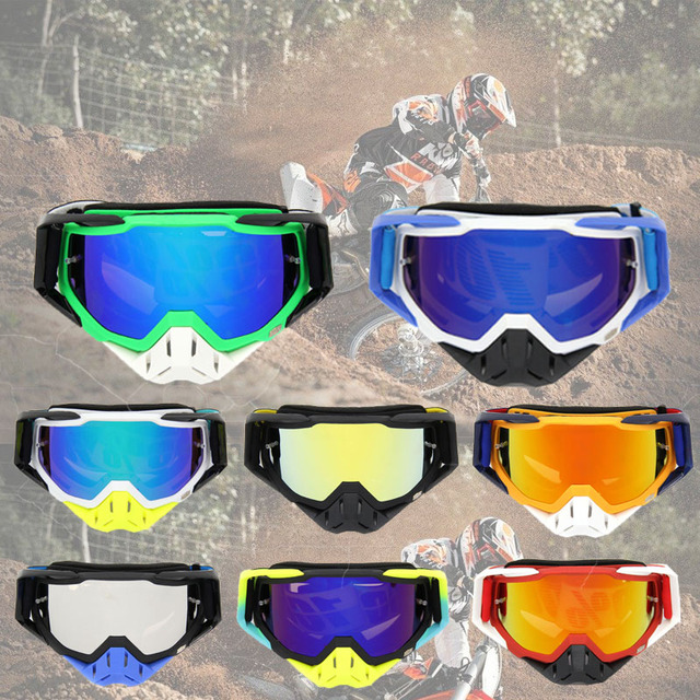 25d9596ee981 Motorcycle adjustable High quality 100% brand new Protective Helmet Face  Mask Motocross Goggles Dirt Bike