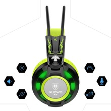 Nubwo K6 headphones gaming headset with microphone 3.5mm stereo auriculares game earphone glowing LED Light USB for PC Computer