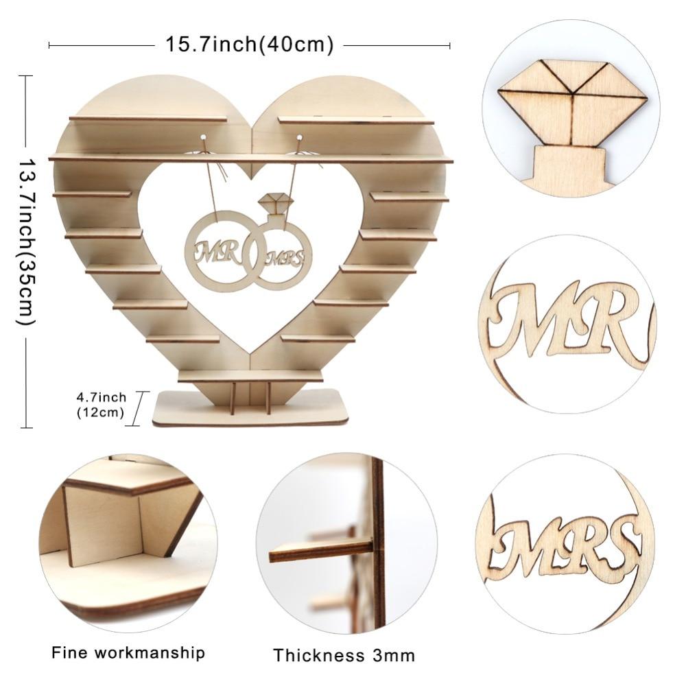 Mr Mrs Wedding Chocolate Heart Tree Ferrero Rocher Chocolate Stand Wedding Di…