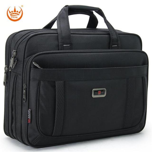 2017 Hot Sale Fashion Business Men's Briefcase Luxury Brand 15 Inch Men's Laptop Bag Large Capacity Men Single Shoulder Bag A129