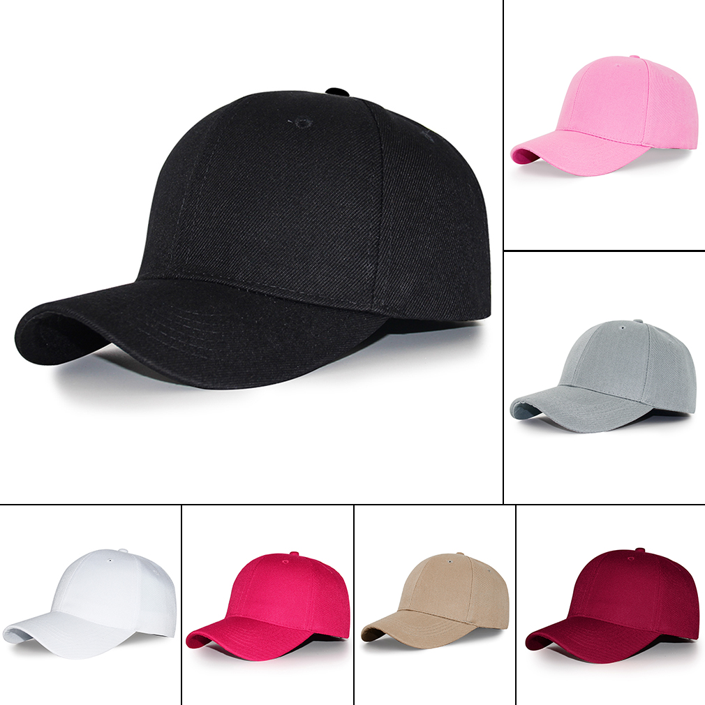 Jamont 2017 Solid Color Baseball Caps 7 Style Colors