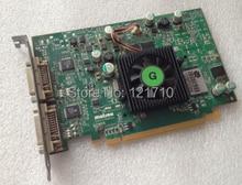 PCI-E graphic card F7197-03 REV.A P65-MDDE128F dual DVI output for matrox computer