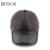 Bfdadi inverno imitação de pele de carneiro boné de beisebol motociclista caminhoneiro snapback chapéus para os homens de esportes ao ar livre chapéus bonés quentes tamanho grande marrom