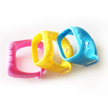 Для Q60 Q80 Q90 Smart Watch Ремешок Положение GPS Ребенка Смотреть Ремешки Водонепроницаемый Силиконовый Дети Часы-Телефон Защитный Чехол