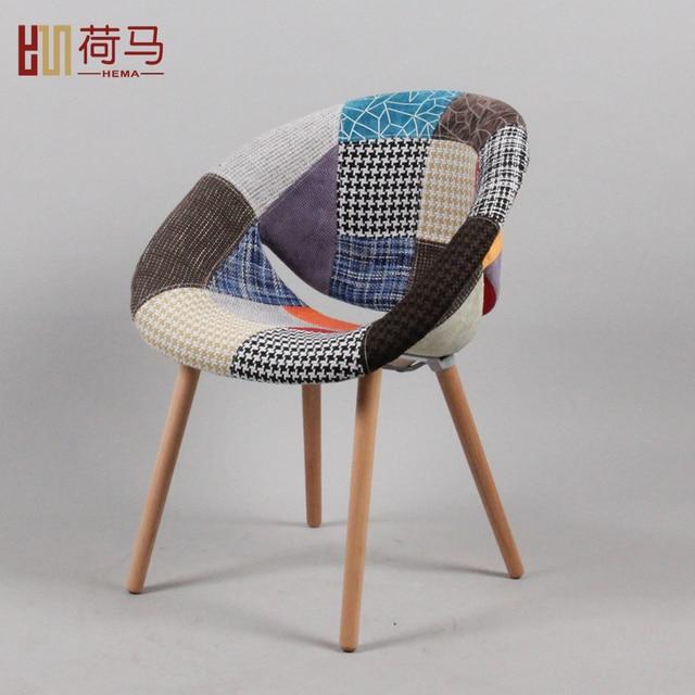 Homer sillones madera europea silla de sal n con estilo de for Sillas y sillones modernos