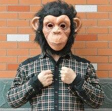 Halloween Masquerade Masks Supplies20115 New Hot Terror Long-haired Tarzan Of The Apes Mask Animal Monkey