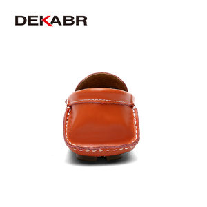 Image 3 - DEKABR 2021 גברים לנשימה עור אמיתי נהיגה גברים נעלי קיץ סתיו באיכות נעליים יומיומיות גברים Sapatos Masculinos