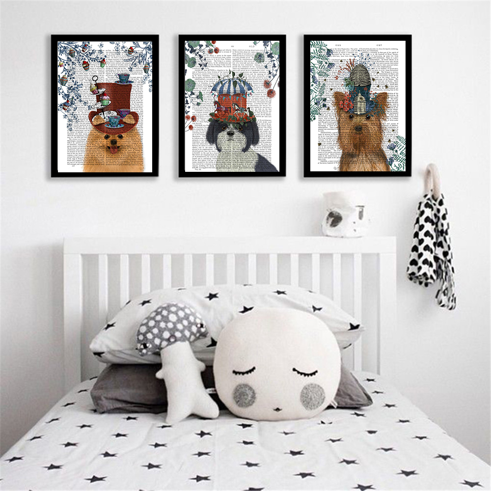 Posters Vintage Wall Pictures Home Decor Baby Room Decor ... on Room Decor Posters id=30119
