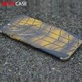 Devilcase spiderman marcas de garras de couro de corpo inteiro de volta adesivo para iphone 6 6 s 3d da cópia da pata de volta adesivo de pele de couro