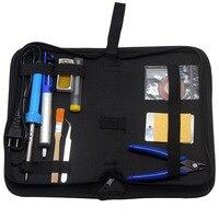 AideTek Soldering Iron Kit 15in1 Welding Tool 30W Soldering Iron Carry Bag SPC1