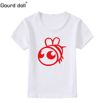 Gourd doll  babyKids Girls T-shirt children Clothing Childrens Tops Summer Clothes Short Sleeve Tee blouse shirts Cartoon