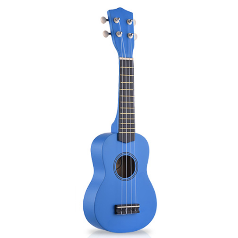 21-Inch Wooden Ukulele Musical Instrument Children and Music Beginner Guitar