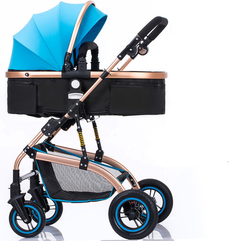 Baby stroller sitting lying light folding shock absorber baby stroller baby child stroller baby stroller baby stroller shock absorbers light folding stroller 4runner