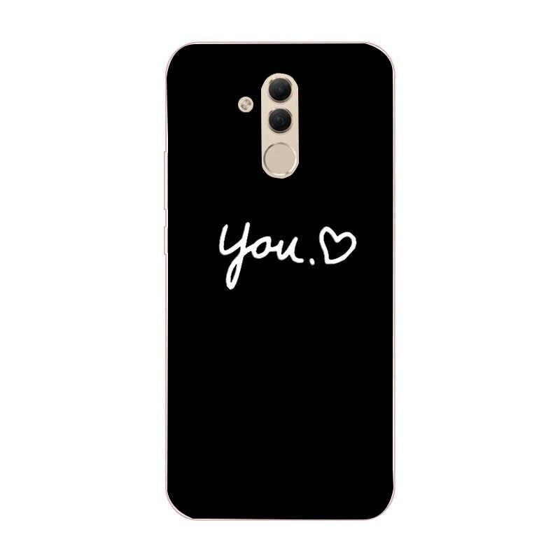 Caso de Huawei P30 Lite funda de silicona de TPU de la contraportada del teléfono para Huawei P30 Pro amigo 20 10 Lite Pro P Smart 2019 P20 Lite Capa