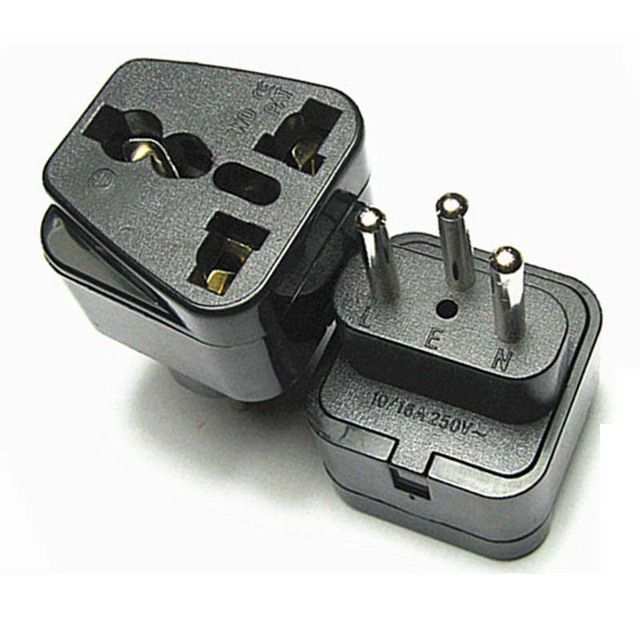 Switzerland Plug Socket Travel Converter Adapter Household