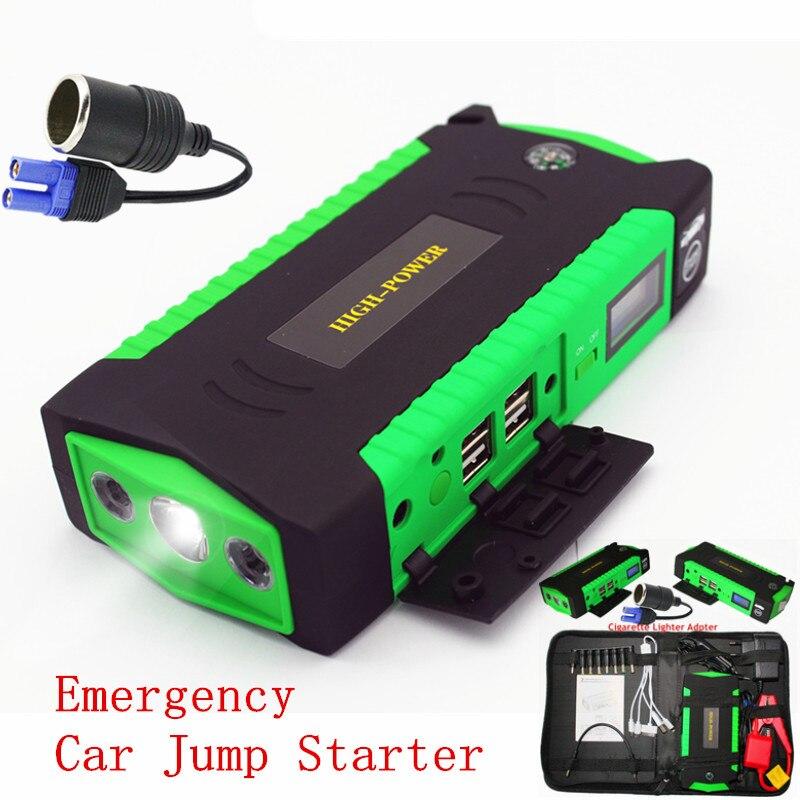 Notfall Startvorrichtung Auto Starthilfe 16000 mAh Energienbank 12 V Tragbare Auto Ladegerät Für Batterie Diesel Benzin Booster Buster