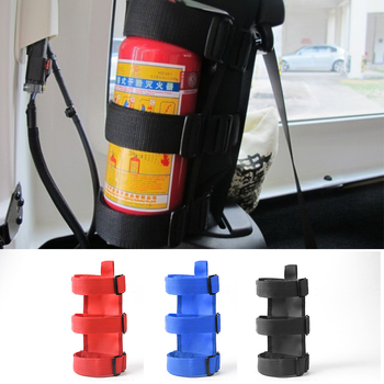 SHINEKA Oxford Car Roll Bar Fire Extinguisher Holder Large & Small Size for Jeep Wrangler TJ JK JL 1997-2018 Accessories