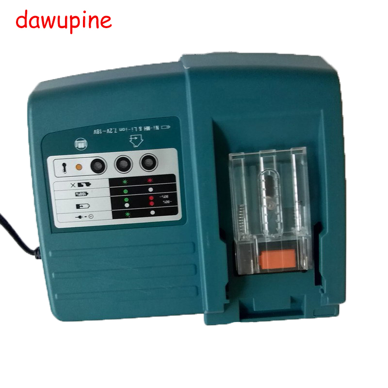 Li-ion Battery Charger Replacement Power tool Battery Charger for Makita BL1830 Bl1430 DC18RC DC18RA