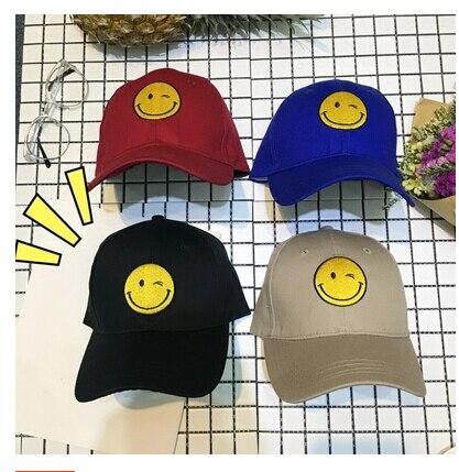 Fashion Real Character Casquette 2016 New Arrival Snapback Hats Korea Ulzzang Harajuku Cartoon Emoji And Baseball Caps Gorras