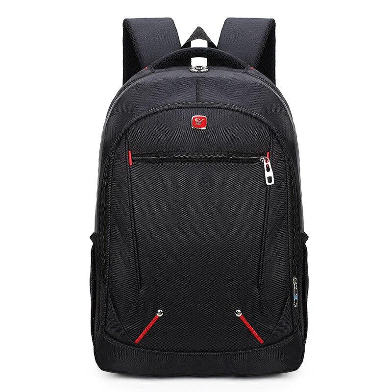 Suutoop Brand Laptop Backpack Men's Travel Bags 2017 Multifunction Rucksack Waterproof Oxford Black School Backpacks Teenagers