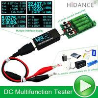 DC Battery Tester Power Meter Voltmeter Ammeter Capacity 18650 Lithium Polymer Nimh Carbon Zinc Nickel Cadmium