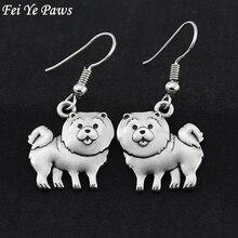 Drop-Earrings Oorbellen Fashion Jewelry Big Women for Chow Fei Dog-Breed Ye-Paws Hot