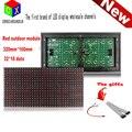 Красный открытый из светодиодов дисплей окне модуля панель вход магазин вход P10 32 X 16 матричный программируемый