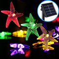 Solar String Light, YHXK 30LED 20ft Starfish Solar Power Fairy Light Christmas Decorative Lighting for Garden Home Party Wedding
