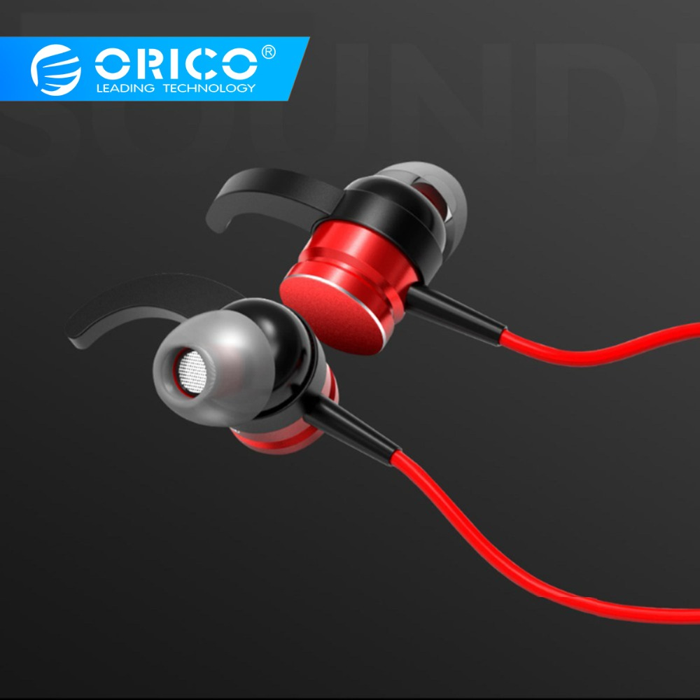 ORICO Arc-shape Hooks In-ear Earphones Music Earbuds Stereo Sporting Gaming Earphone With Microphone For Xiaomi IPhone Samsung