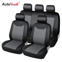 AUTOYOUTH Luxury PU Leather Car Seat Covers Universal Full Seat Covers For Toyota Lada Renault Audi
