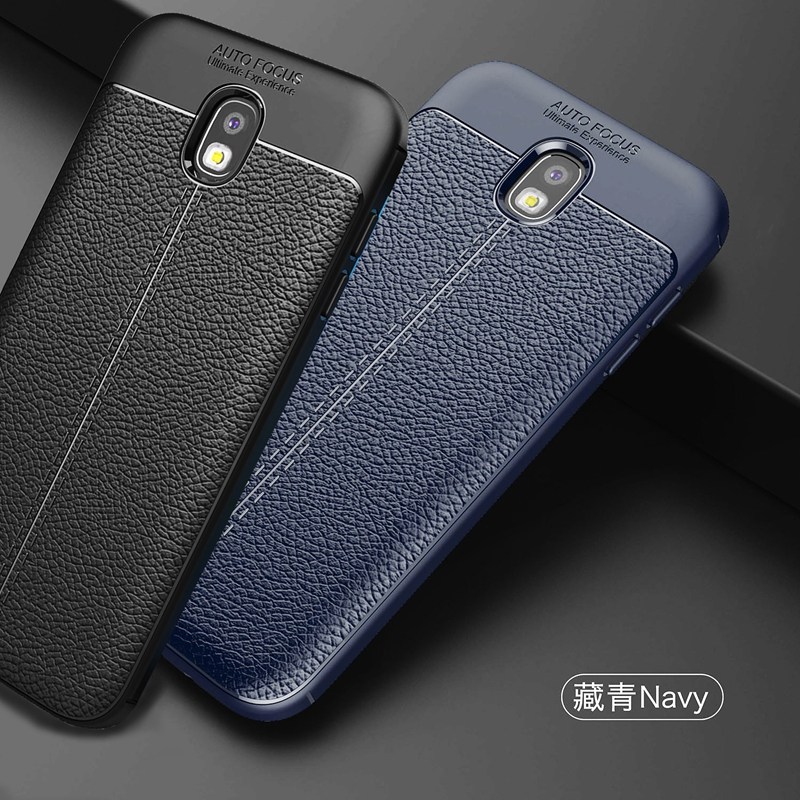 Galleria fotografica Phone Case For Samsung Galaxy J3 2017 Case Silicone J330 Luxury Back Cover For Samsung J3 2017 Case Cover J3 2017 sm-J330f Case
