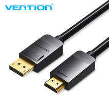 Vention Adapter Cable DP Male to HDMI Male 1080 Cable Adapter Converter Video Cable for PC Laptop for Mac Displayport to HDMI 3m displayport dp male to hdmi male adapter cable black 150cm