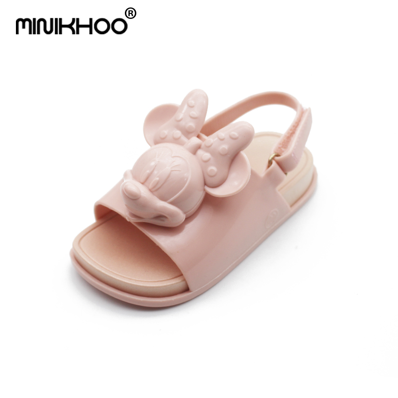 Mini Melissa 2018 Summer New Brazilian Mickey Jelly Sandals Girl Boy Sandals Children Sandals Mini Melissa Children Shoes Lovely