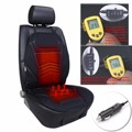 12V Winter Car Warm Heated Seat Cover Cushion Electrical Heat Heating Warmer Pad Temperature Adjustable