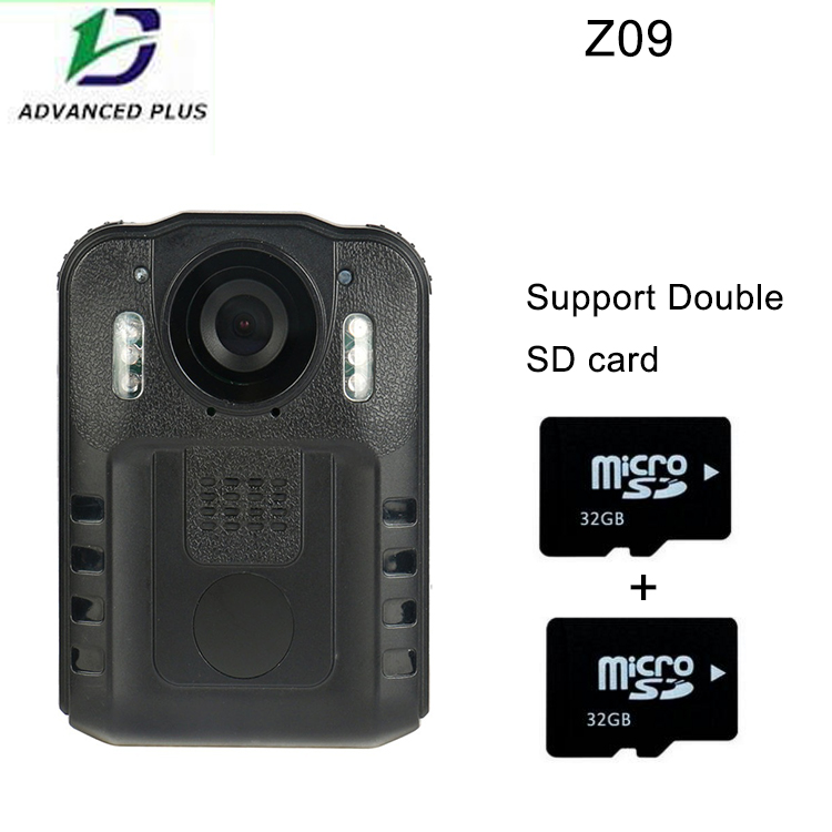 2016 1080P HD Body worn font b Camera b font Double 32G Card Night Vision driving