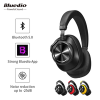 Bluedio T6S wireless bluetooth headset noise reduction over ear headphones with microphone for phones support voice control