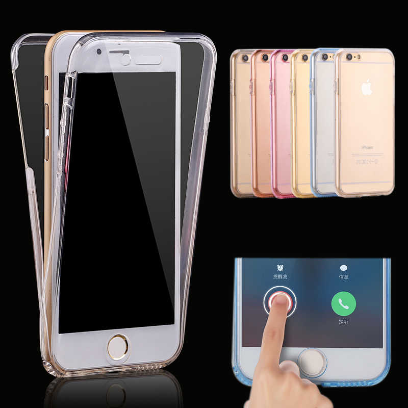 Luxury 360 Full Body Protection Case สำหรับ iPhone 5 5S 6 6S SE 7 Plus สำหรับ iPhone 8 8 PLUS X 10 Fundas Coque