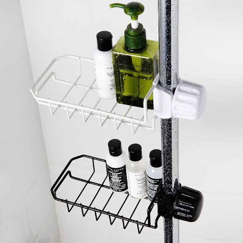 robinet evier eponge lave vaisselle rangement suspendu egouttoir salle de bain douche caddy etagere porte savon organisateur accessoires de cuisine