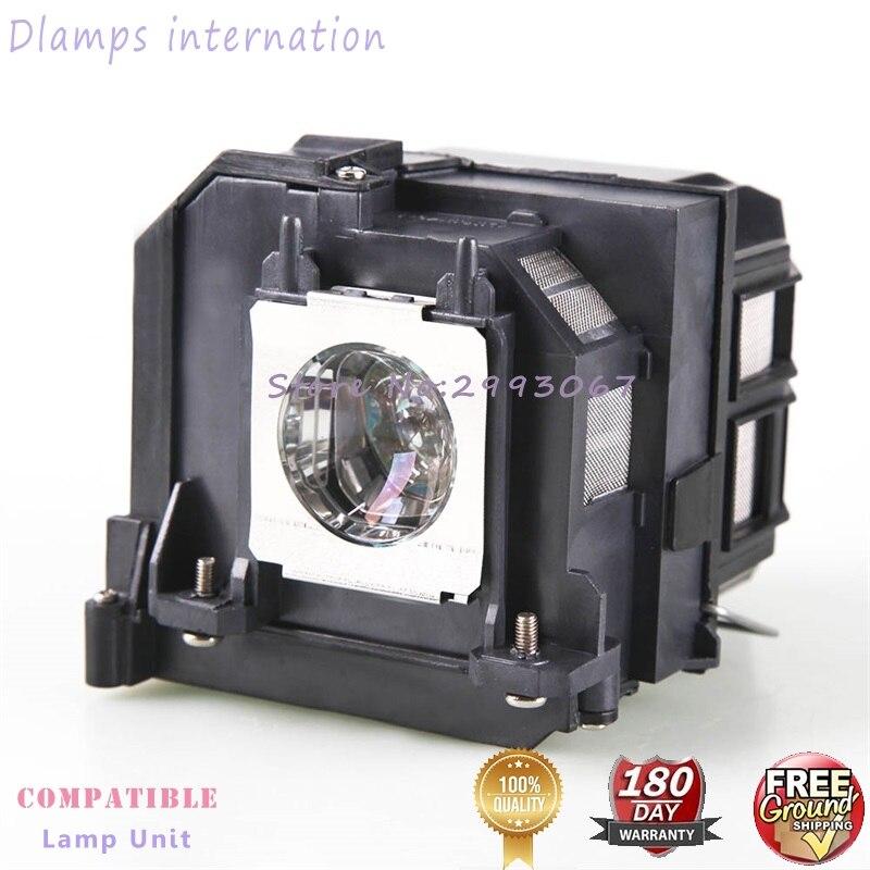Lampe de Projecteur De rechange EP85/V13H010L85 pour Epson EH-TW6800 EH-TW6600 EH-TW6600W EH-TW6700 EH-TW6700W Projecteurs