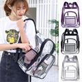 Прозрачный рюкзак из водонепроницаемого ПВХ  Прозрачный женский рюкзак для взрослых и студентов  Домашний Органайзер  большие сумки для хр...