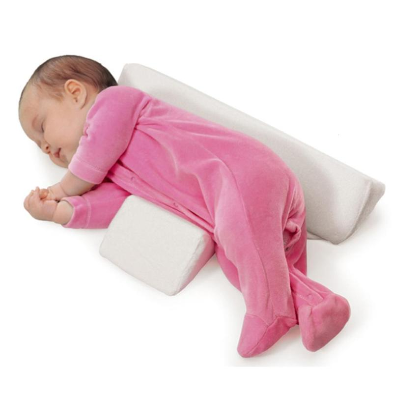 1pc Baby Shaping Pillow Side Sleeper Anti Roll Pillow