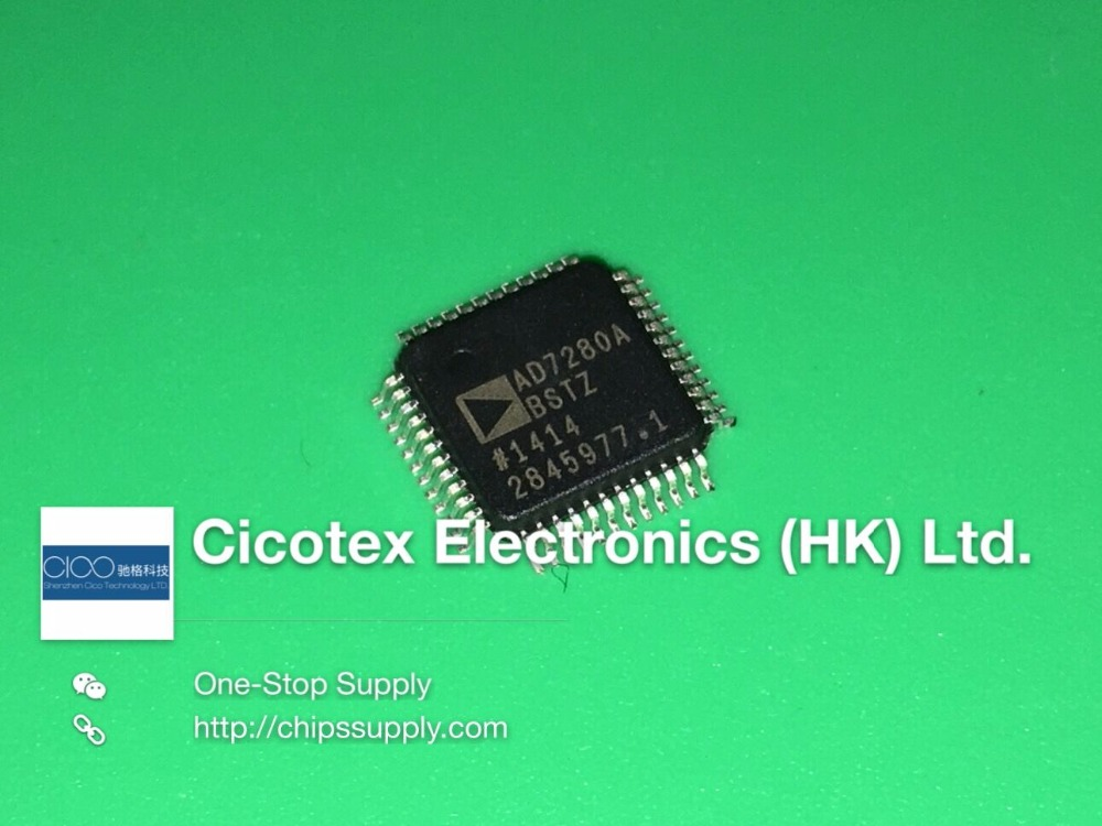 3pcs/lot AD7280ABSTZ 7280 LQFP48 IC BATT MONITOR LI-ION 48LQFP