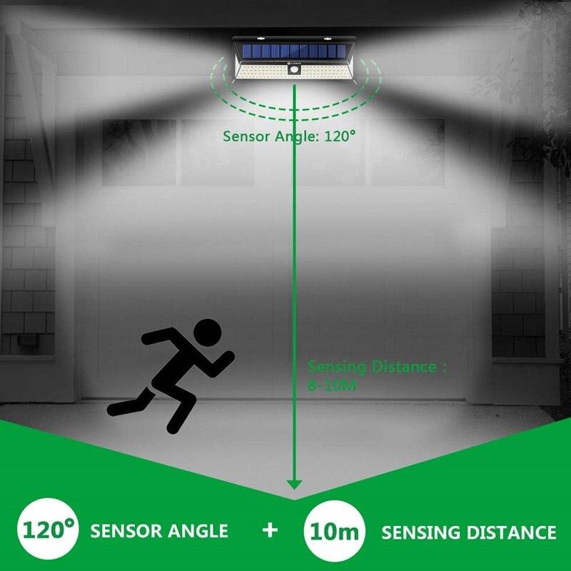 movimento lâmpada ao ar livre ip65 à