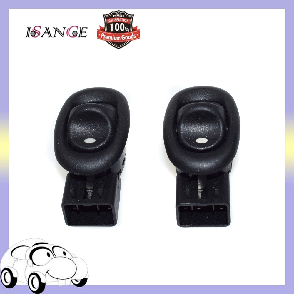 REAR//FRONT Electric Power Window Switch PAIR BLACK Holden Commodore VZ