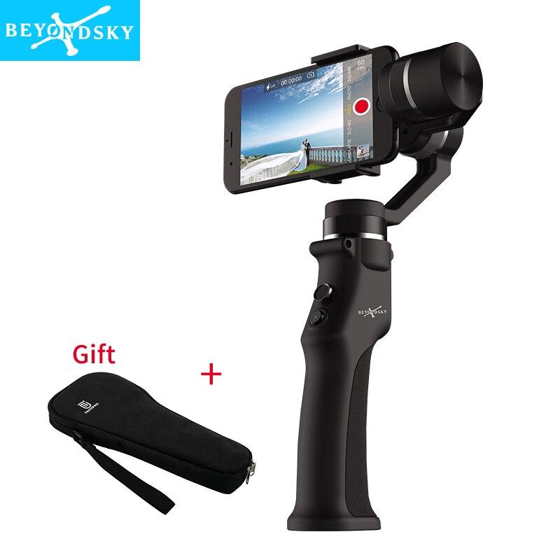 Beyondsky Eyemind Smartphone Handheld Gimbal 3-Achse Stabilisator für iPhone 8 X Xiaomi Samsung Action Kamera VS Zhiyun Glatte Q