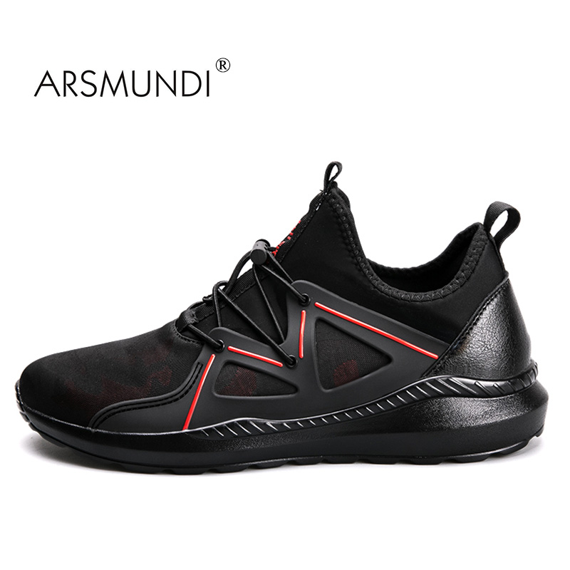 ARSMUNDI Men Running Shoes Original Speed HL-DS9717 Sneakers Breathable Massage Non Slip Men Running Shoes Mens Runners 2017 peak sport speed eagle v men basketball shoes cushion 3 revolve tech sneakers breathable damping wear athletic boots eur 40 50